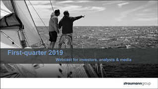 First-quarter 2019 - Webcast for investors, analysts & media