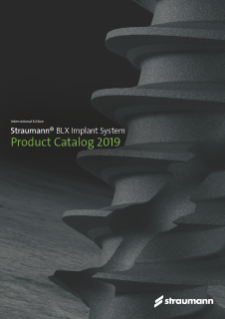 Strauman BLX Product Catalog